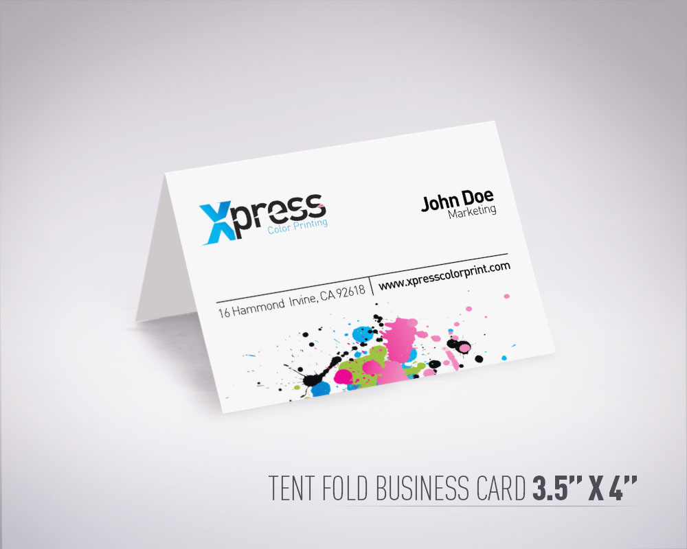Folded Business Cards | Unlimitedgamers.co